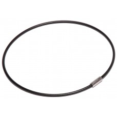 "Nylon Coated Cable Flexible Key Ring - 4"" Diameter"