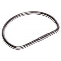 "Solid Tamper Proof Key Ring - 2"" Diameter"