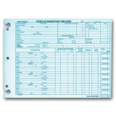 Vehicle Inventory Records (Package of 50)