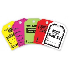 Custom Mirror Hang Tags (Package of 50)