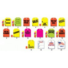 9 in. x 12 in. Mirror Hang Tags (Package of 50)