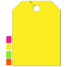 """Blank Mirror Hang Tags - 9"""" x 12"""" (Package of 50)"""
