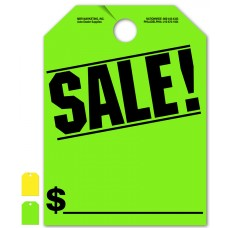 """Sale! Mirror Hang Tags - 9"""" x 12"""" (Package of 50)"""