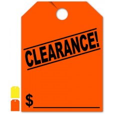 """Clearance! Mirror Hang Tags - 9"""" x 12"""" (Package of 50)"""