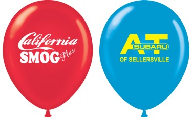 Custom 11 in. Printed Balloons