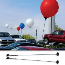 Car Window Balloon Holder for 17 Inch Latex Balloons (2 piece)