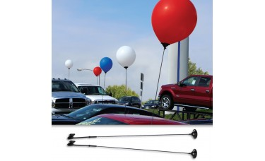 Car Window Balloon Holder for 17 in. Latex Balloons (2 piece)