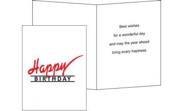 Happy Birthday Cards (BD)