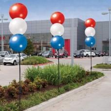 Seamless Reusable Balloon Cluster Kit - 3 Balloon (Stacked)