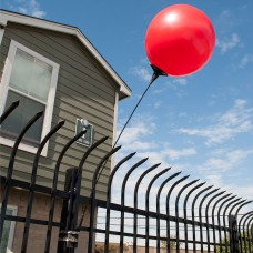 Seamless Reusable Balloon Fence Bracket Kit
