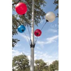 Seamless Reusable Balloon Light Pole Kit - 4 Balloon