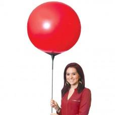 """Seamless Reusable Balloon Jumbo 27"""" Single Pole Kit"""