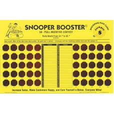 Snooper Booster Incentive Cash Board