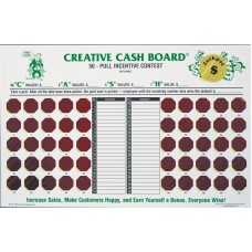 Creative Cash Board Sales Incentive Game Board