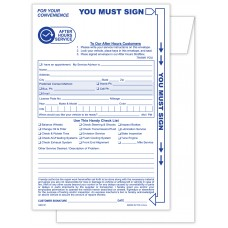 """Night Drop Envelopes 6"""" x 9"""" - Stock (Package of 500)"""