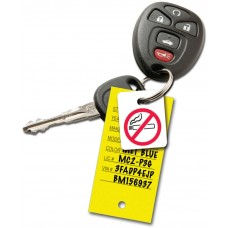 No Smoking Key Fobs (Package of 250)