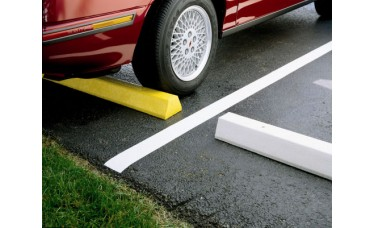 Plastic Parking Block (48 in. x 7 in. x 5 in.)