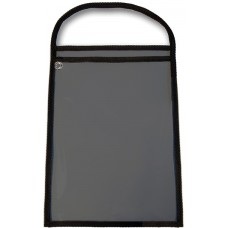 Plastic Work Order Holders for Repair or Job Tickets - Black