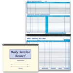 Daily Service Record Books & Route Sheets
