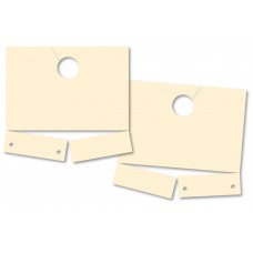 Blank Manila Service Dispatch Hang Tags (Package of 1000)