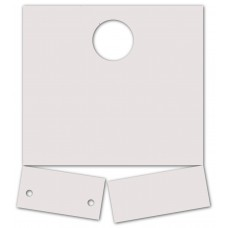 Blank Extra Heavy Duty Service Dispatch Hang Tags (Package of 1000)