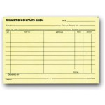 Parts Requisition Forms