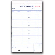 Parts Requisition Forms (Package of 250)