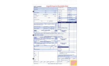 Rental Agreements - Custom (Package of 500)