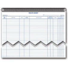 Service Dispatch/Route Sheets Bound (Book of 50 Sheets)