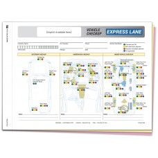 Express Lane Vehicle Checkup Form - Custom (Package of 500)