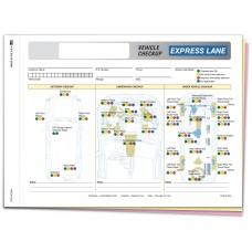 Express Lane Vehicle Checkup Form - Stock (Package of 250)