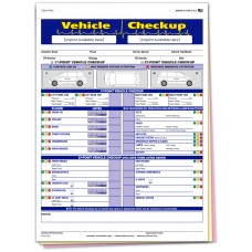 Vehicle Checkup Inspection Form - Custom (Package of 500)
