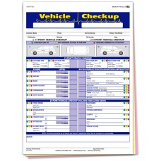 Vehicle Checkup Inspection Form - Stock (Package of 250)
