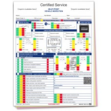 GM Multi Point Inspection Form - Custom (Package of 500)