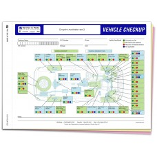 Chrysler Multi Point Inspection Form - Custom (Package of 500)
