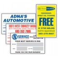 Custom Oil Change Stickers & Service Reminders