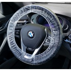 "24"" Disposable Plastic Steering Wheel Covers (Case of 500)"