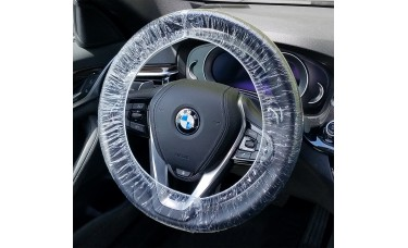 """24"""" Disposable Plastic Steering Wheel Covers (Case of 500)"""