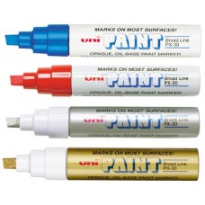 Uni-Paint Oil Base Markers (1/4in. Tip)