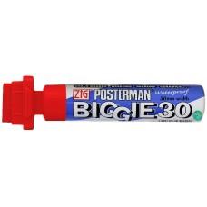 Zig Posterman Biggie 30mm - Wide Tip Windshield Markers