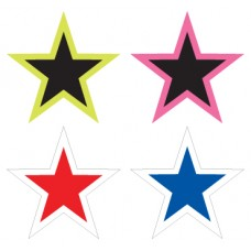 5 in. Star Adhesive Windshield Stickers