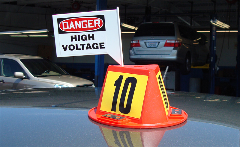 Message Flags For Magnetic Car Top Hats